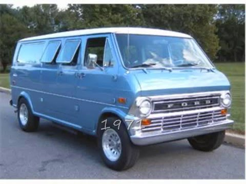 History Of The Ford Econoline Youtube