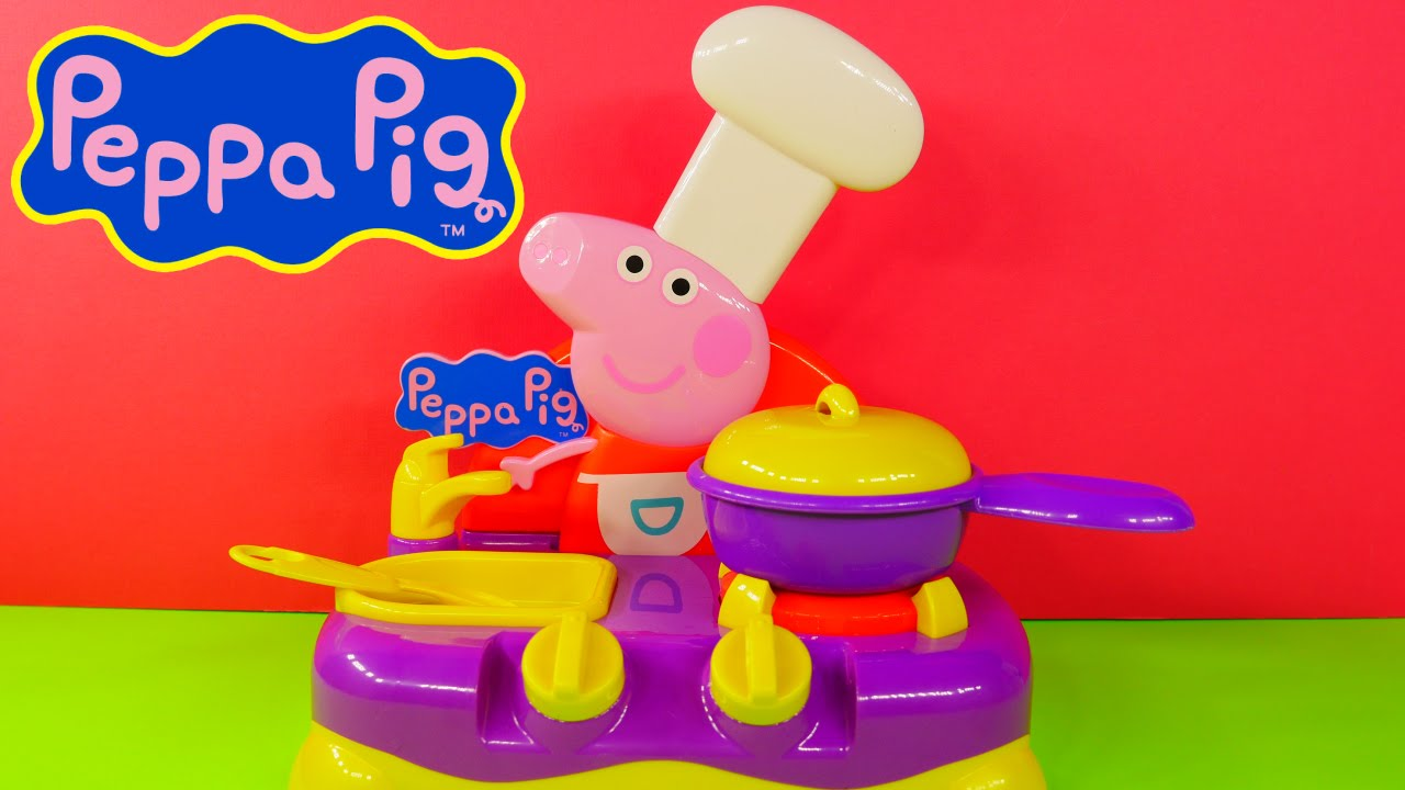 Peppa Pig Sing Along Kitchen Play Doh