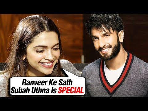 Deepika Padukone REVEALS Waking Up With Ranveer Singh After Marriage