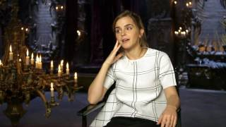 "Beauty and the Beast: Emma Watson ""Belle"" Behind the Scenes Movie Interview"