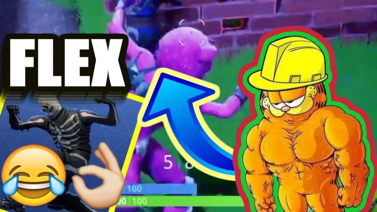 I Found Buff Garfield In Fortnite Youtube