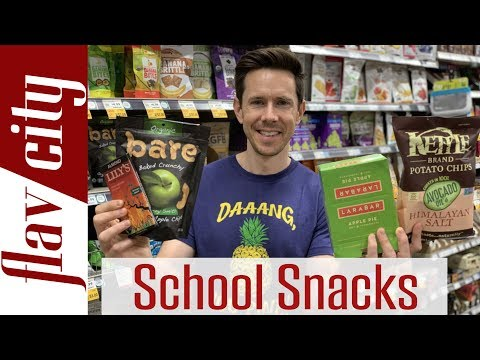 Top 20 Healthy Snacks You Can Buy  - Back To School Snack Review