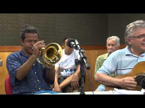Wave e Chega de Saudade-Hugo DLeon trompete e Regional Cordas Que Falam