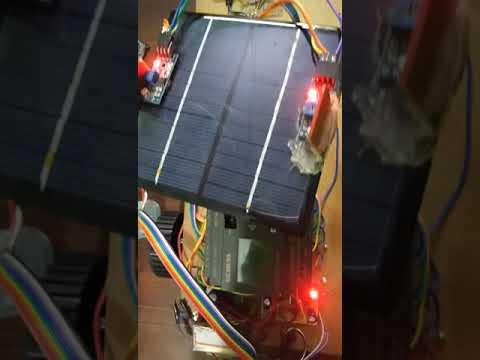 PLC based solar tracking vehicle engineering project