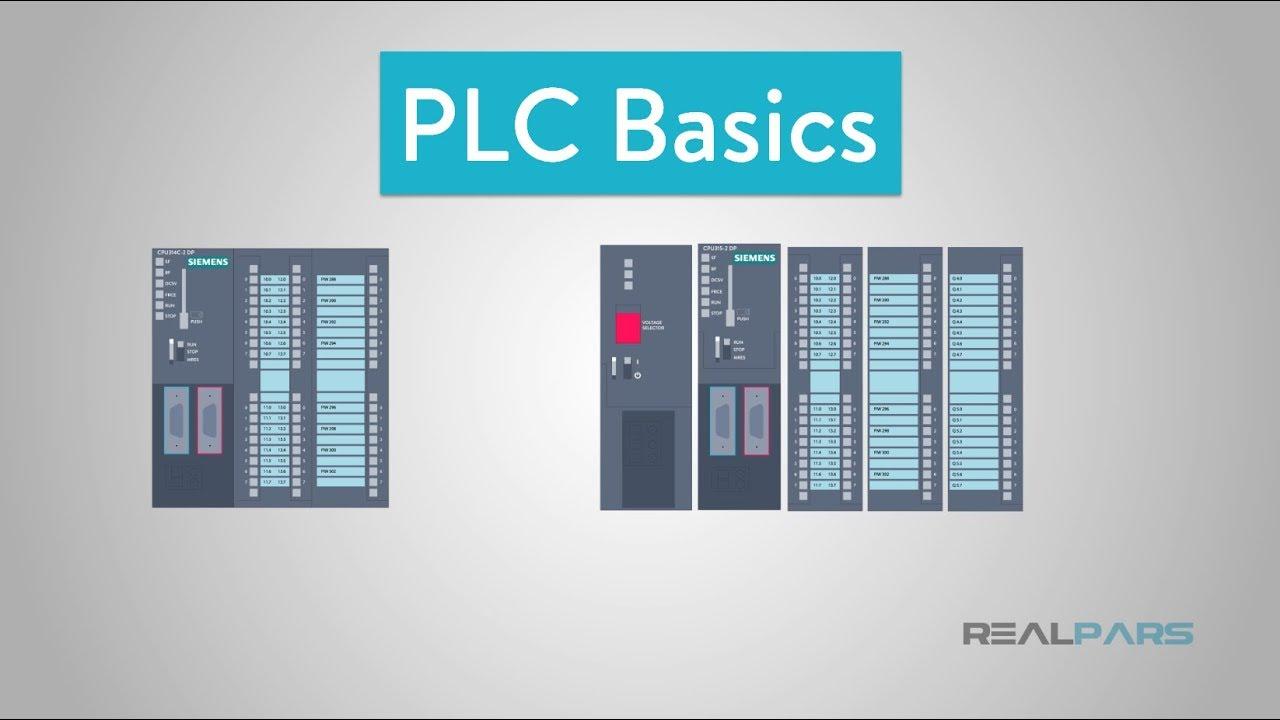 Plc Basics Programmable Logic Controller Youtube