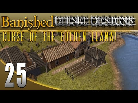 Banished Colonial Charter 1.4: EP25: Ropery! (City Building Series 60FPS)