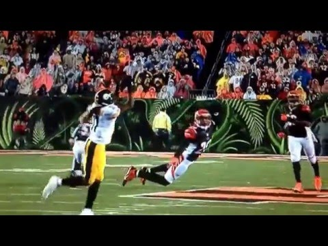Shawn Williams Drills Markus Wheaton | Pittsburgh Steelers vs Cincinnati Bengals 2016 |