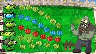Plants vs Zombies Hack -   Every Peashooter vs Gargantuar Fight!