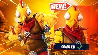 New Fortnite CHICKEN Skin is AMAZING..