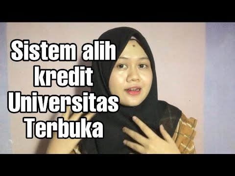 Cara Alih Kredit Universitas Terbuka