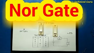 NOR GATE Logic Gate Science Project
