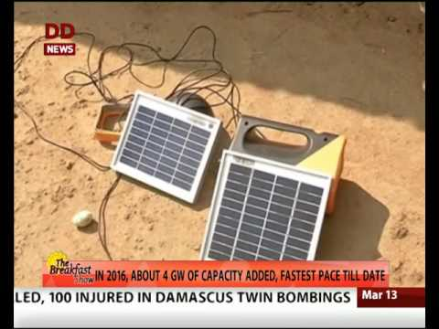 India's solar power generation capacity crosses 10,000 megawatt