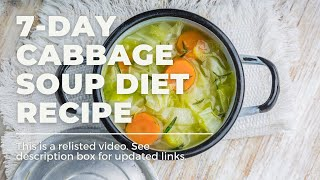 How To | 7 Day Cabbage Soup Diet Recipe Thumbnail