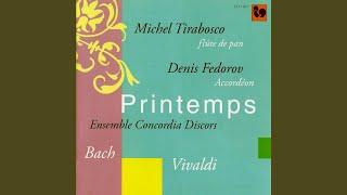 Sonate pour flûte et clavecin en sol mineur, BWV 1020: III. Allegro