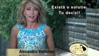 Campania de sterilizare - Alexandra Velniciuc