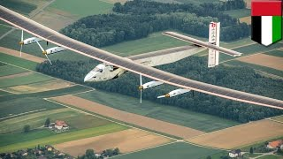 Solar Impulse 2: World's first solar-powered around the world flight takes off in March