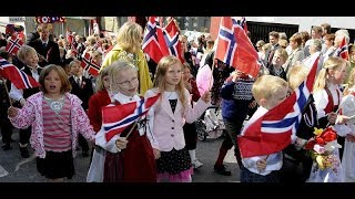 Barnetoget i Arendal 17.mai 2018