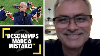 DESCHAMPS MADE A MISTAKE! José Mourinho reveals why France went out of #EURO2020
