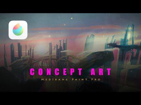 Weird Creep – Concept Art in Medibang Paint Pro