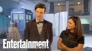 Doctor Who: Matt Smith and Jenna Louise-Coleman Talk Rabid Fans | Cover Shoot
