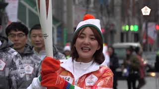 (ENG) PyeongChang 2018 Paralympic Torch Relay Highlight from Day 7  in Gangneung