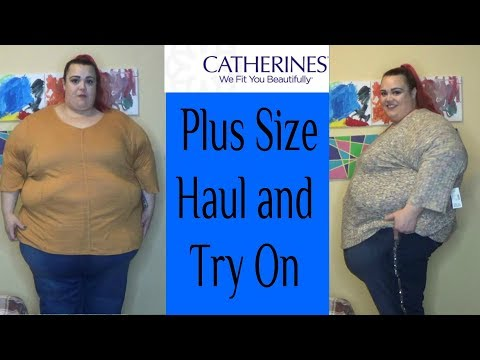 Catherine's Plus Size Haul And Try-On