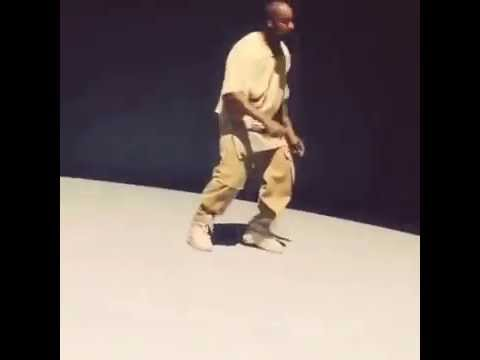 kanye dancing to the song king kunta