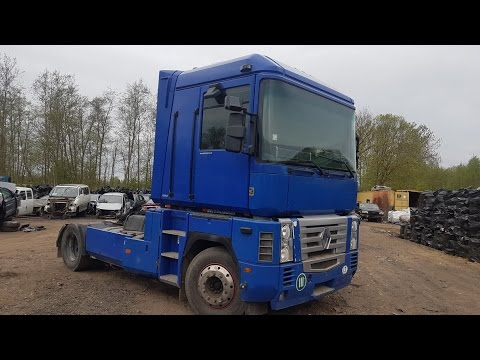 recycler parts Truck - Renault Magnum 2001 12 0 cm3, 480 hp (358 kW) Diesel  Mechanical