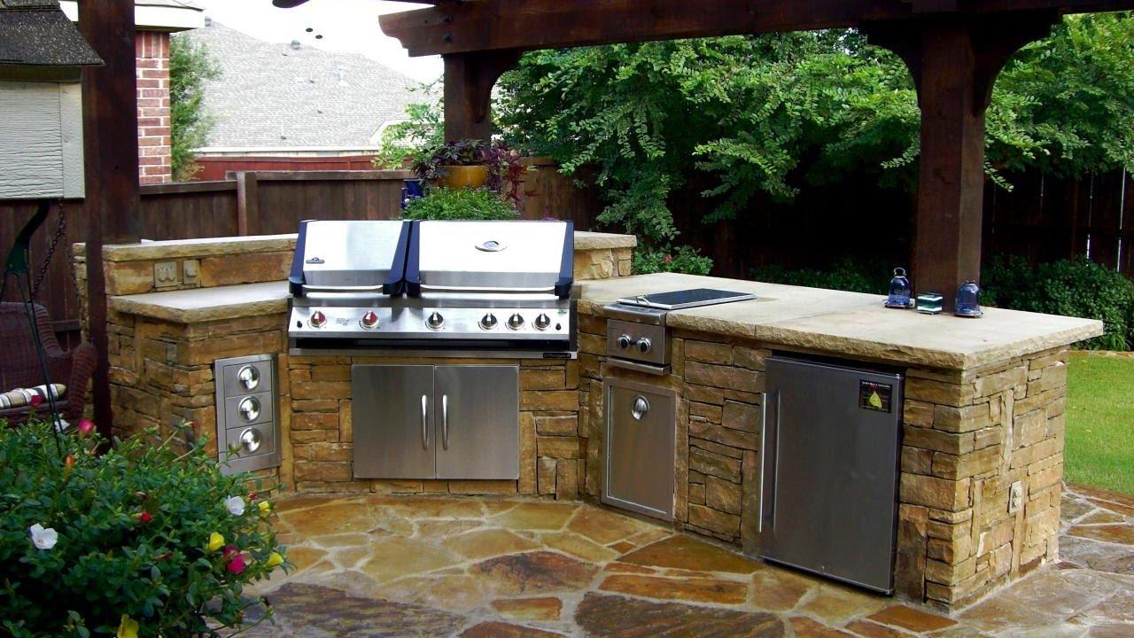 modular outdoor kitchen kits - youtube