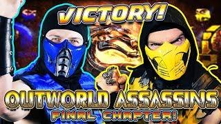 Scorpion & Sub-Zero Finish MORTAL KOMBAT - Outworld Assassins! | MK PARODY!