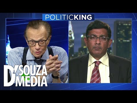 SO SATISFYING: D'Souza educates Larry King about despicable Democrat history