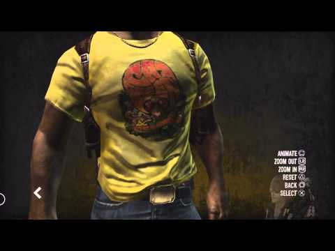 The House of the Dead Overkill G & Isaac Washington Model Viewer (HD)