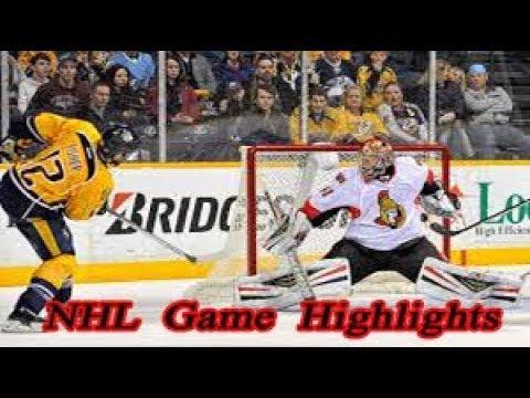 Nashville Predators vs Ottawa Senators - 11.12. NHL Highlights Season 2018-2019