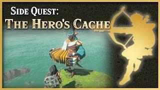 Zelda Breath of the Wild • The Hero's Cache • Hateno Side Quest