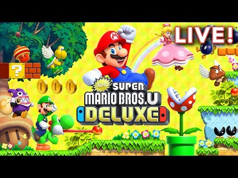 New Super Mario Bros. U Deluxe with Tim & Paul