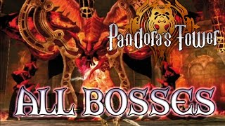 Pandora's Tower All Bosses | Final Boss (Wii)