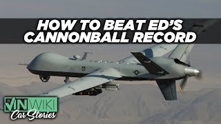 Cannonballing with a Predator Drone?