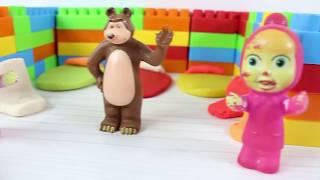 Maşalar Koca Ayıya Legolardan Çok Güzel Ev Yapıyor Masha and the Bear