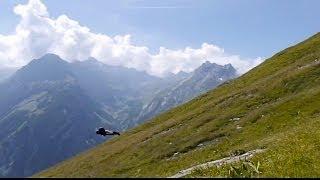 Super Low Wingsuit Flying In Switzerland   Veni, Vidi, Volavi, Ep. 2
