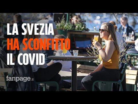 La Svezia ha sconfitto il Covid senza lockdown