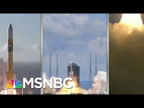 'Traffic Jam' As Three Nations' Mars Missions Arrive At The Red Planet   Rachel Maddow   MSNBC