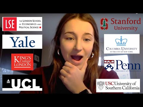 2018 COLLEGE DECISION REACTIONS (Stanford, Yale, LSE, Columbia and more!)