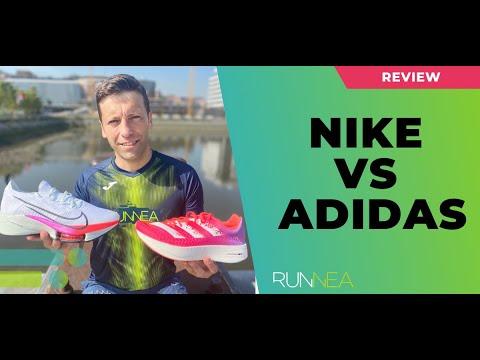 Comparamos las Nike Air Zoom Tempo Next vs Adidas Adizero Adios Pro