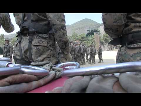 U S  Marines Train in South Korean MWTC