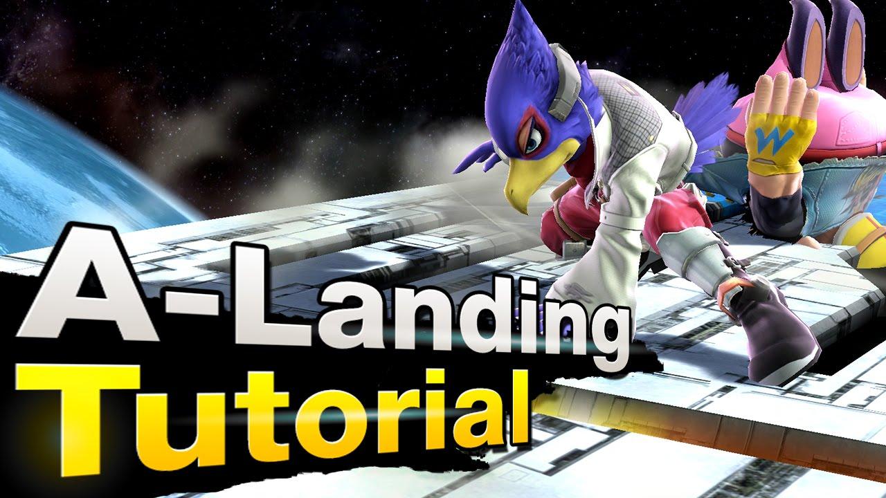 Smash 4 Wii U - A-Landing