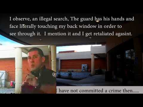 Security Guards Illegally stating they are police and false detainment in  Knoxville Tn