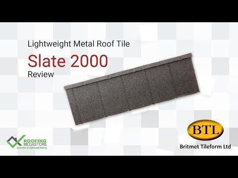 Metal Roof Tiles - Slate 2000 Lightweight Metal Roof Tile Review by Roofing Megastore