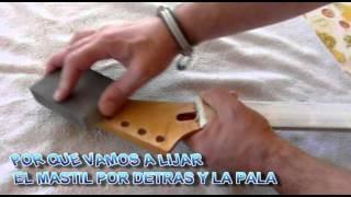 Decapar y Pintar una guitarra 1ª Parte (Técnica SWIRL)