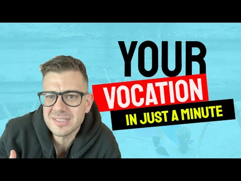 YOUR VOCATION - In Just A Minute - Episode #26