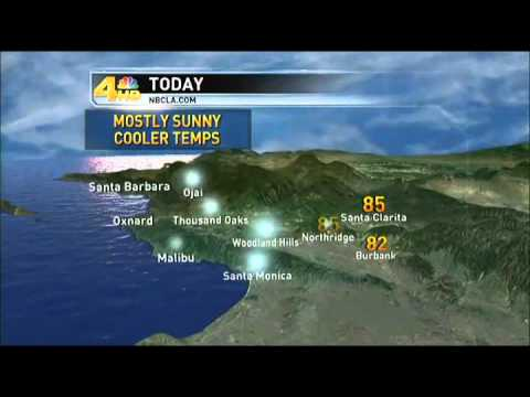 Los Angeles Weather Reports Forecasts Maps Radar NBC Los Angeles